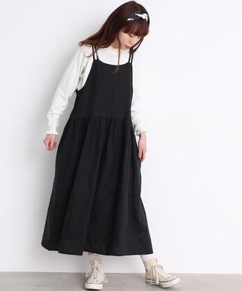 【予約販売】〇cdc 14リネン エプロンスカート