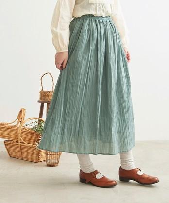 ○cdc 80ローンsiwadaki ギャザースカート