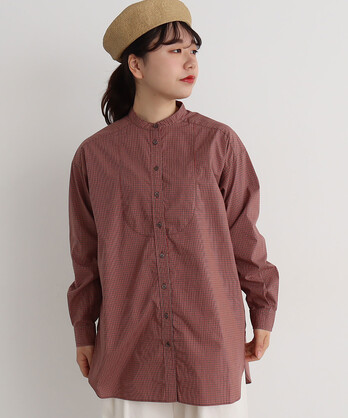 ○aimer jamesスタンドチュニックシャツ
