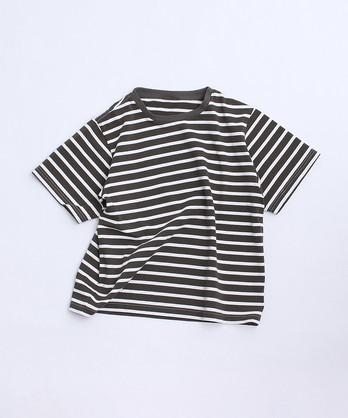 aimer ボーダーTシャツ
