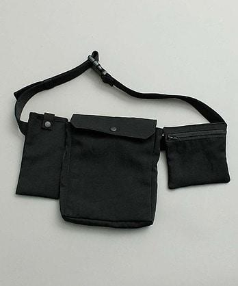 〇ナイロンツイル ポケットバッグ