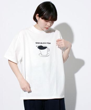 △〇achoo coffee ビッグTシャツ