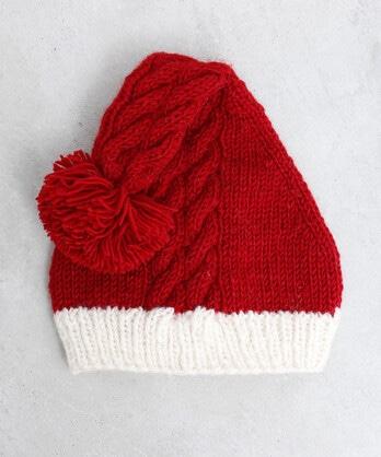ハンドニット サンタ帽